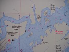Lake Sinclair Maps Gps Maps Information Lake Sinclair